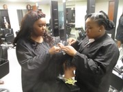 Cleveland Heights cosmetology students experience a different kind of beauty -- that of giving