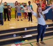 Autistic children prepare with the Beck Center for a curtain call