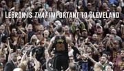 LeBron James means that much to Cleveland: photo editorial