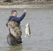 Fishing report for March 16: Steelhead trout, walleye are on the run