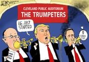 Trump, Giuliani change their tune: Darcy cartoon