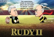 Rudy promises to boot Russia probe: Darcy cartoon