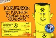 Kucinich and Assad: Darcy cartoon