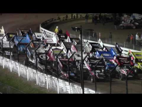 Williams Grove Speedway World of Outlaws Highlights 10-14-16
