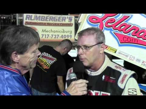 Williams Grove Speedway 410 Sprint Car Victory Lane 10-07-16