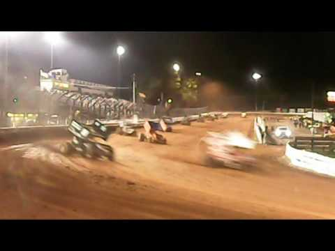 Williams Grove Speedway 410 Sprint Car Highlights 10-07-16