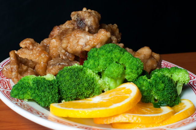 THE GENERAL SPECIFIC: Double Dragon's General Tso's chicken