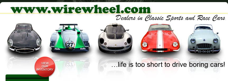 wirewheel.com dealer in classics sports and race cars