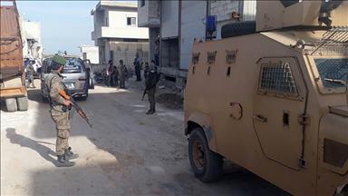 Azez Emniyet Müdürlüğü yağmacıları kıskıvrak yakalıyor