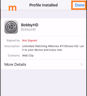Download bobby hd for iphone ipad no jailbreak