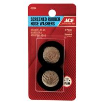 Ace .5 in. Dia. Rubber Screened Washer 2(6AP)