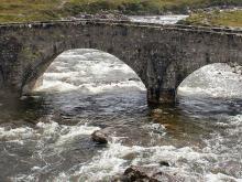Bridge over Scottish river