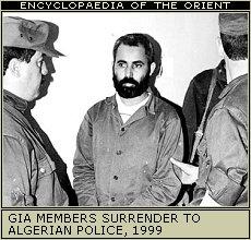 GIA member surrrenders to Algerian police, 1999