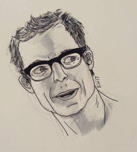 Harrison Wells doodle