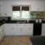 Home Furnitures Sets:The Example of Kitchen with White Cabinets Kitchens With White Cabinets And Black Countertops
