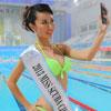 新时代学校携国际潜水小姐助阵大鹏杯帆船赛