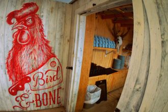 Bird and Bone; A Southern-Inspired Miami Beach restaurant famous for Nashville Hot Chicken