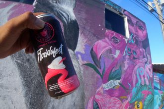 Art and Craft Beer in the Wynwood Art District
