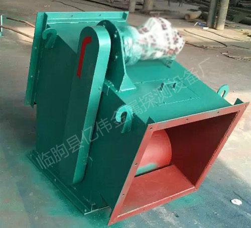 管道式除铁器生产现场