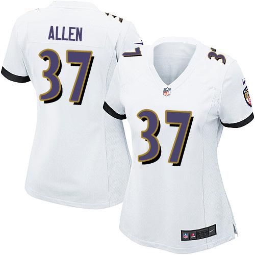 Women's Justice Hill Purple Limited Football Jersey: Baltimore Ravens #43 Rush Drift Fashion  Jersey