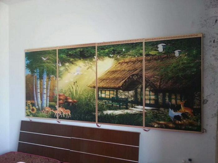 林间小屋安装实景图