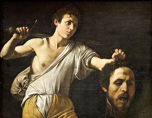 Давид и Голиаф, Караваджо