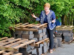 'Now, where's the instructions?' - Lost plans leave mining monument as pile of bricks