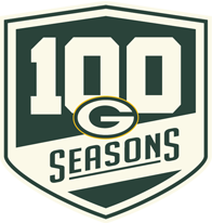 Green Bay Packers 100 Years Logo