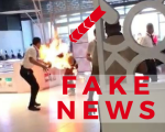Fake news: Man on fire at Dubai Mall