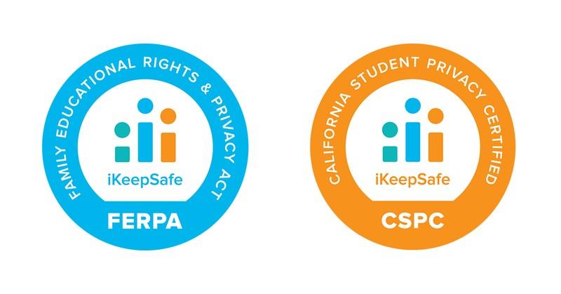 iKeepSafe certification badges