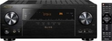 Pioneer - Elite 7.2-Ch. Hi-Res 4K Ultra HD HDR Compatible A/V Home Theater Receiver - Black - Larger Front