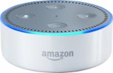 Amazon - Echo Dot (2nd generation) - Smart Speaker with Alexa - White - Larger Front