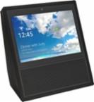 Amazon - Echo Show - Smart Speaker with Alexa - Black - Larger Front