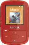 SanDisk - Clip Sport Plus 16GB* MP3 Player - Red - Larger Front
