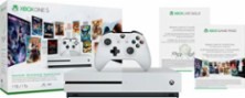 Microsoft - Xbox One S 1TB Starter Bundle with 4K Ultra Blu-ray - White - Larger Front