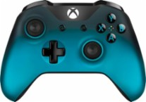 Microsoft - Xbox Wireless Controller - Ocean Shadow Special Edition - Blue - Larger Front