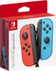 Nintendo - Joy-Con (L/R) Wireless Controllers for Nintendo Switch - Neon Red/Neon Blue - Angle