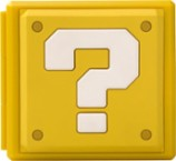 PowerA - Question Block Premium Game Card Case - Yellow - Larger Front