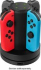 Insignia™ - Joy-Con Charging Station for Nintendo Switch - Black - Larger Front