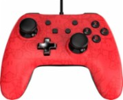 PowerA Plus - Super Mario Edition Controller for Nintendo Switch - Red/black - Larger Front