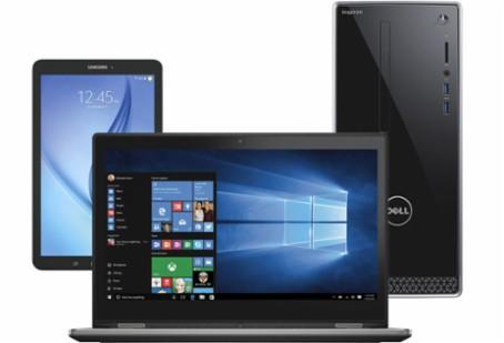 Laptop, desktop, tablet
