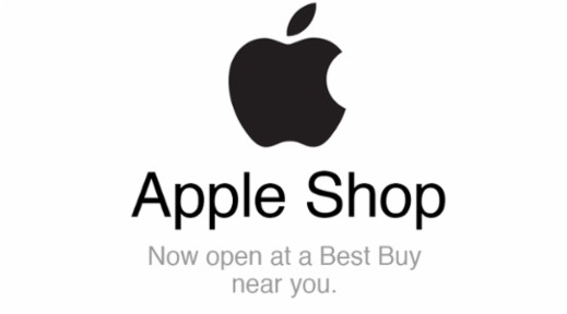 Go to the apple shop