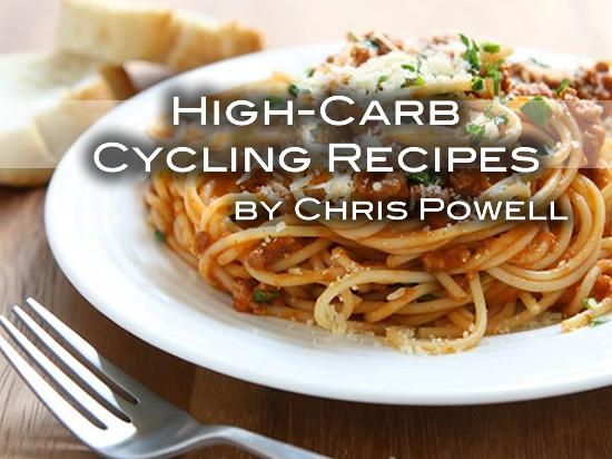 High-Carb Cycling Recipes
