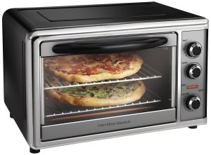 Hamilton Beach 31104 Countertop Oven with Convection and Rotisserie