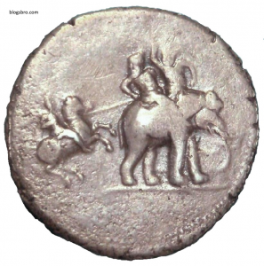 porus and alexander coin