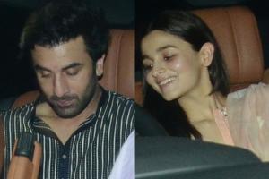 Sanju Screening: Alia Bhatt Watches the Biopic with BF Ranbir