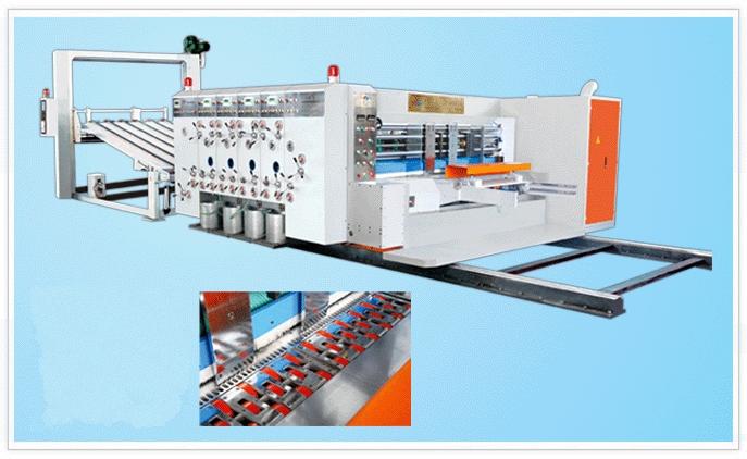 SYKM950/SYKM4212高速水墨印刷开槽模切机(前缘送纸)