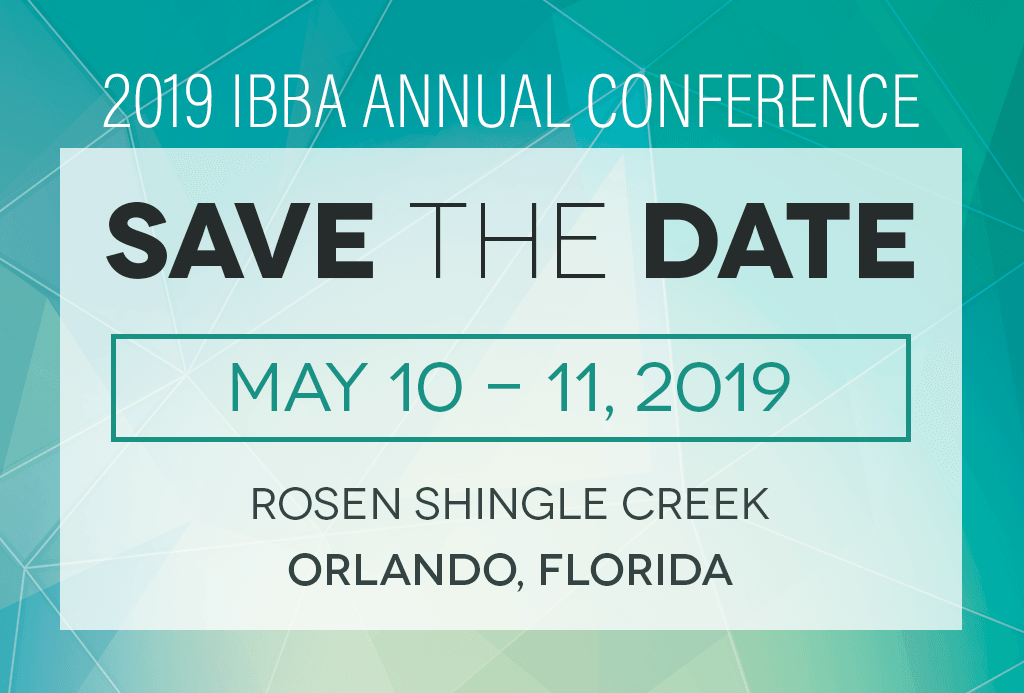 IBBA 2019 conference