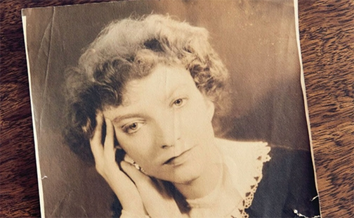 Archival photo of Madeleine L'Engle