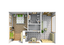 zippboxx affordable storage space plans 10x15 2 Bedroom Storage